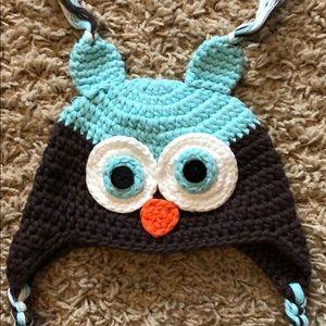 Owl Crocheted hat